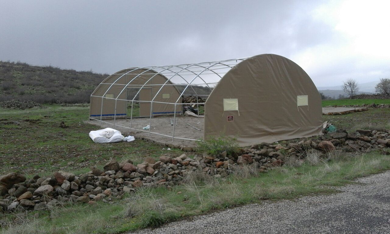 Poultry Hencoop with Vertical Side Model